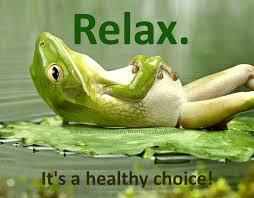 Relax kikker